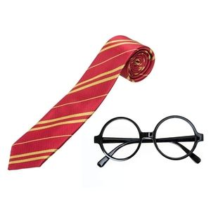 HarryPotter Tie and Glasses